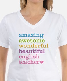 English Teacher Shirt