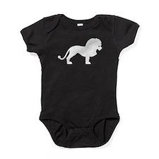 Lion Silhouette Baby Bodysuit