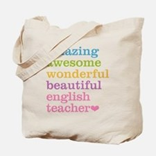English Teacher Tote Bag