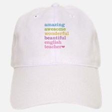 English Teacher Baseball Baseball Cap