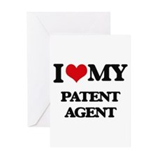 I love my Patent Agent Greeting Cards