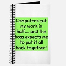 Computers cut work Journal