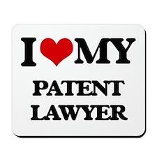 I love my Patent Lawyer Mousepad