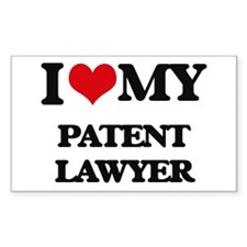 I love my Patent Lawyer Decal