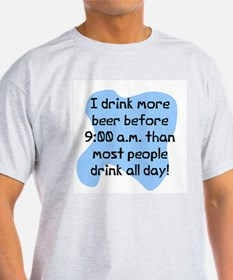 Drink more beer T-Shirt