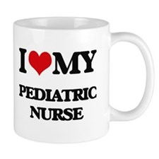 I love my Pediatric Nurse Mugs