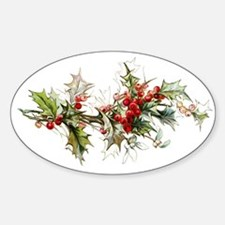 Holly and berries Decal