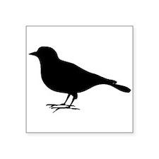 Robin Silhouette Sticker