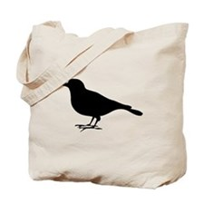 Robin Silhouette Tote Bag