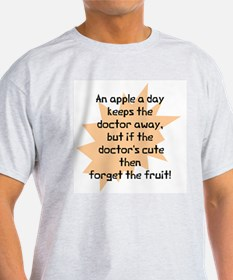 Doctor's cute apple T-Shirt