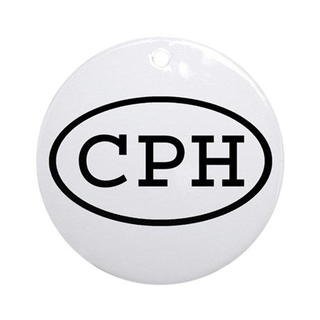CPH Oval Ornament (Round)