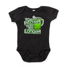 Take a Pitcher it Will Last Longer Baby Bodysuit