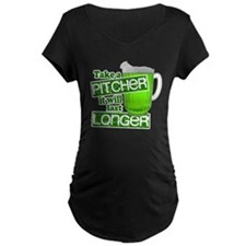 Take a Pitcher it Will Last Long Maternity T-Shirt