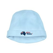 gday mate baby hat