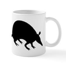 Armadillo Silhouette Mugs