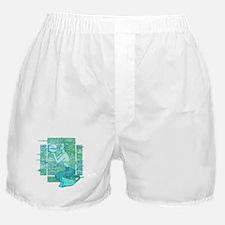 Pisces Seas Boxer Shorts