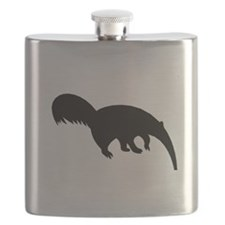 Anteater Silhouette Flask