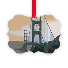 GoldenGateBridge003 Ornament