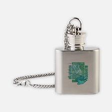 Pisces Seas Flask Necklace
