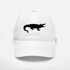 Alligator Silhouette Baseball Baseball Baseball Cap