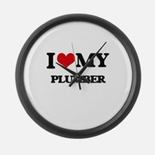 I love my Plumber Large Wall Clock