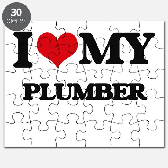I love my Plumber Puzzle