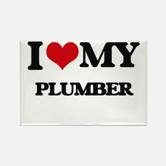 I love my Plumber Magnets