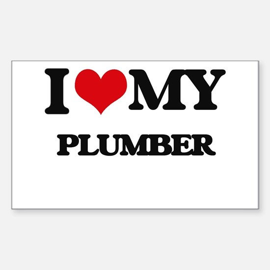 I love my Plumber Decal