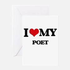 I love my Poet Greeting Cards