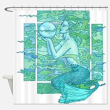 Pisces Seas Shower Curtain