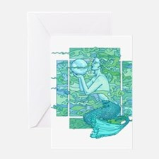 Pisces Seas Greeting Cards