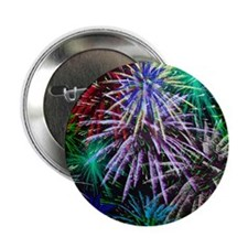 """Fourth Of July Fireworks 2.25"""" Button (10 pack)"""
