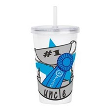 Worlds Best Uncle Acrylic Double-wall Tumbler