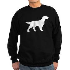Flat-Coated Retriever Silhouette Sweatshirt