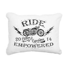 Ride Empowered Vintage Glitter & Gasoline Rectangu