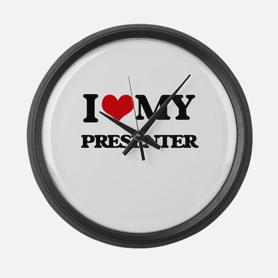 I love my Presenter Large Wall Clock