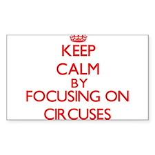 Circuses Decal