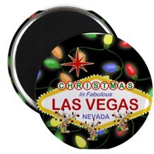 Cute Las vegas holiday Magnet