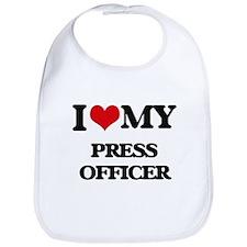 I love my Press Officer Bib