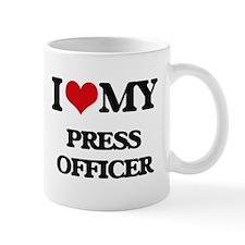 I love my Press Officer Mugs