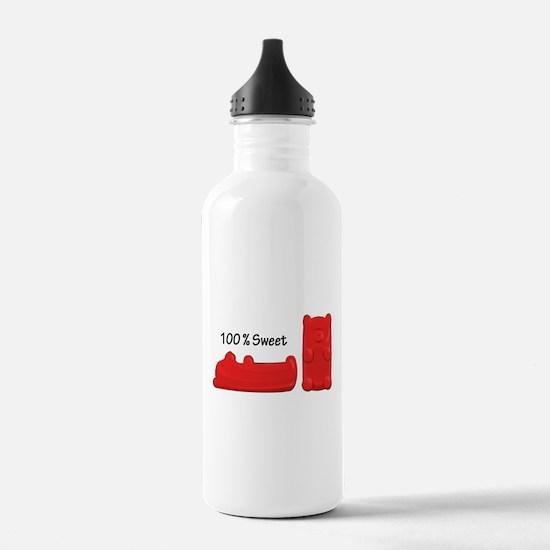 Sweet Candy Bears Water Bottle