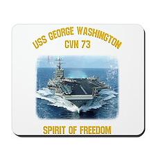 USS George Washington CVN 73 Mousepad