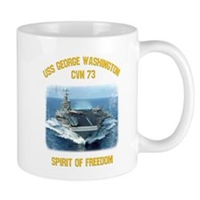 USS George Washington CVN 73 Mugs