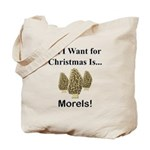 Christmas Morels Tote Bag