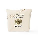 Christmas Morels Tote Bag