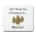 Christmas Morels Mousepad