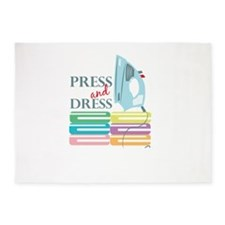 Press & Dress 5'x7'Area Rug