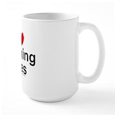 Sucking Toes Ceramic Mugs