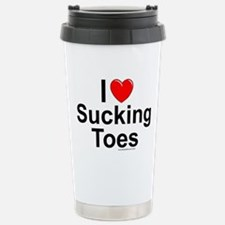 Sucking Toes Travel Mug