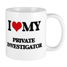 I love my Private Investigator Mugs
